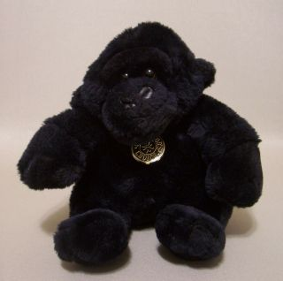 Black Gorilla Plush 9 Dan Dee Collectors Choice Stuffed Animal Soft