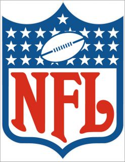 NFL Logo wall, window, sticker, decal National Football League Gloss