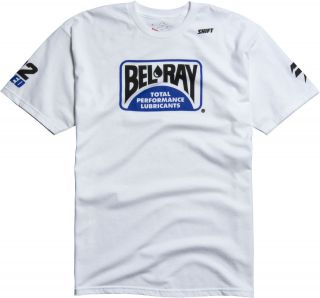 Chad Reed Bel Ray White Short Sleeve Tee Two Two Motorsport T Shirt