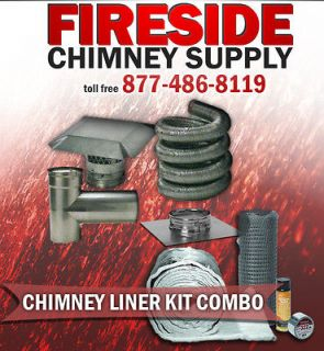 chimney liner insulation in Heating, Cooling & Air