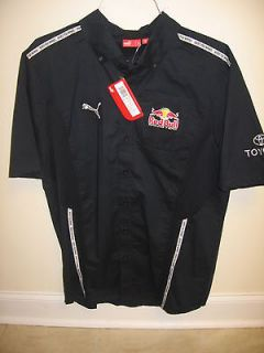 Issued Red Bull Racing Puma Pit Crew Shirt Nascar F1 BMX Supercross