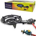 PORTABLE LPG PROPANE GAS OUTDOOR CAMPING BURNER STOVE TOP CAST IRON