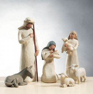 willow tree nativity in Decorative Collectibles