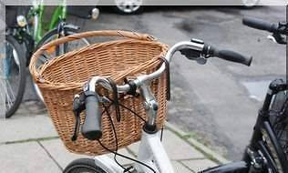 bicycle basket wicker in Panniers, Baskets, Bags, Racks