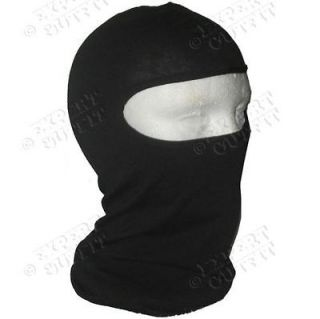BALACLAVA FULL FACE MASK Black NINJA HEAD SHIELD MARTIAL ARTS NEW SALE