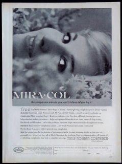 1959 Merle Norman Mira Col Skin Care Magazine Ad