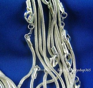 silver snake chain necklace in Fashion Jewelry