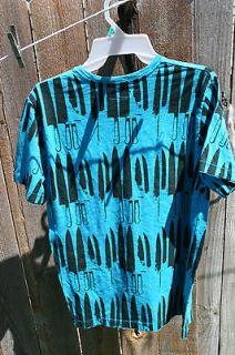 Andy Warhol Design Cutlery Knife T Shirt