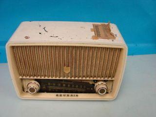 Grundig Majestic 85 Antique Tube Radio International AM/FM Bakelite