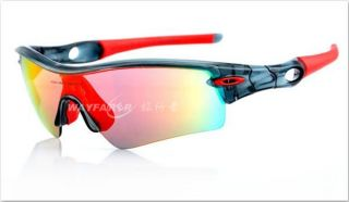 Cycling Riding Bicycle Sports Protective Goggle Sun Glasses UV400 W/ 5