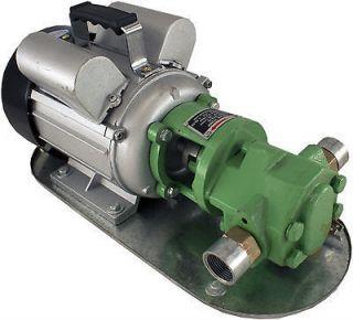 Mini Gear Oil Pump 110v 450w 1/2 HP 8 gpm WCB30 Fuel Transfer