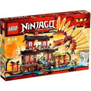 NINJAGO   LEGO Ninjago Fire Temple Building Set # 2507 by LEGO