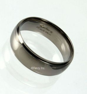 Solid Titanium Wedding Ring Band Sizes 5 6 7 8 9 10 11 12 13 14