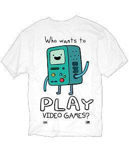 Adventure Time With Finn & Jake BMO Video Games New Licensed Adult T