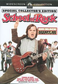 DVD SCHOOL OF ROCK   (Collectors Edtn)   (kid/family Co​medy