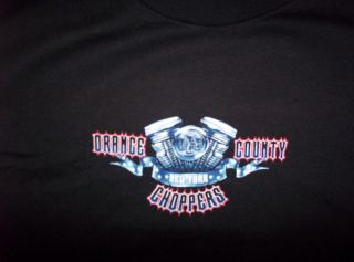 Orange County Choppers occ New York Engine T shirt