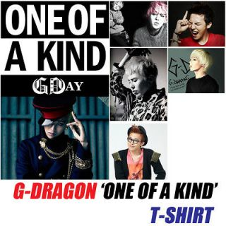 DRAGON one of a kind SOLO T SHIRT BIGBANG GD K pop Idol Brand New