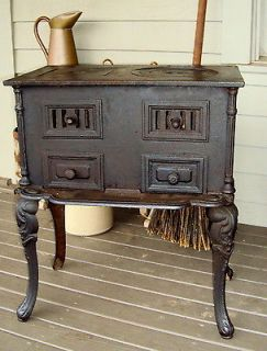 antique wood cook stove in Home & Hearth