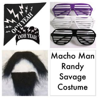 macho man randy savage costume in Sports Mem, Cards & Fan Shop