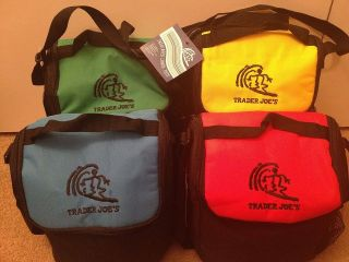 Trader Joes Reusable Grocery Bags Eco Friendly Replaced