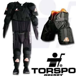 Torspo Ice Armour Suit, Junior L, All in one piece: pants/chest/pads