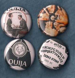 OUIJA BOARD Pins Buttons Badges game mystic retro witchcraft fun 1