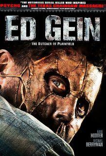 Ed Gein: The Butcher of Plainfield (DVD, 2007)