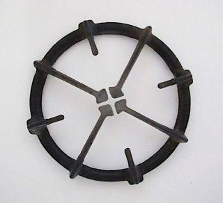 Gas Stove Parts   1 Vintage ROPER Gas Stove Top Black Burner Grate