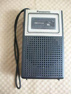 Vintage Transistor Panasonic Hand Held Portable AM Radio Model R 1019