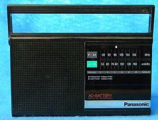 Panasonic Radio Model # RF 542