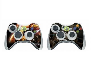 022 Vinyl Decal Skin Sticker for Xbox360 Controller (Original/Slim