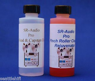 Pak SR Audio VCR Tape Head Cleaner&Pinch Roller Cleaner BETA&VHS