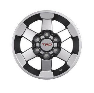 Genuine TRD Alloy Wheels for 05 12 Tacoma and 07 12 FJ Cruiser Set of