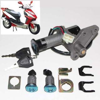 Motorcycle Scooter Ignition Key Switch Lock Set 50 150cc chinese part