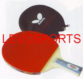 TBC401 FL Ping Pong Paddle Table Tennis Racket Free Case and Ship