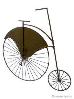 Retro Vintage Wrought Iron Bicycle Wall Art Decor Decorative Metal