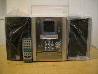Nice Panasonic SA PM25 Shelf CD Stereo System w Remote Control Yamaha