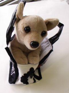 HARLEY DAVIDSON PURSE PET   STUFFED DOG   GIRLS GIFT   TOY   Chihuahua