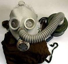 NEW Child Gas Mask XXLarge Nuclear Biological Chemical Evirstar