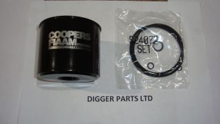 JCB PARTS MINI DIGGER SHORT DIESEL FUEL FILTER
