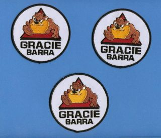 Lot Brazilian Jiu Jitsu Gracie Barra MMA Patches