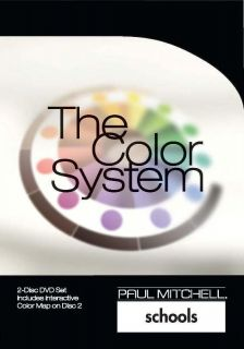 Paul Mitchell Schools The Color System 2 DVD Cosmetology Step by Step