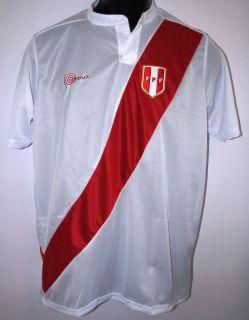 MARCA PERU FPF Jersey Shirt Camiseta Seleccion Peruana Unisex Men