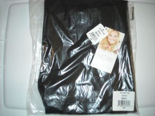 NWT PEACHES 5757 KATHERINE HEIGL SCRUB PANT BLACK JEAN STYLE POCKET