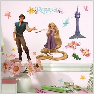 DISNEY TANGLED RAPUNZEL PEEL AND STICK WALL DECALS RMK1524SCS