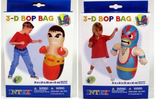 BOP BAG WRESTLER Boxing Punching Kids INFLATABLE Toys Blow Up 36