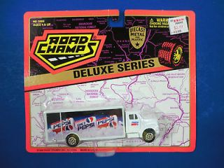 Pepsi Cola Die Cast Delivery Truck Road Champs 1996 NIP