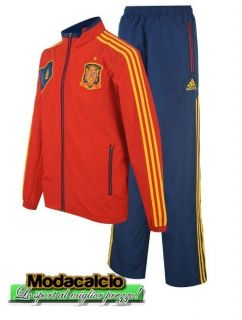 Tracksuit Adidas Spagna SPAIN tg 2012 Tuta Red Blue