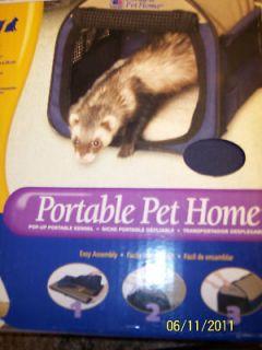 Nib Petmate Portable Pet Home Small Animals Kittens