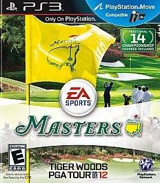 Newly listed Tiger Woods PGA Tour 12 The Masters (Sony Playstation 3